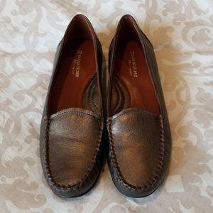 Naturalizer Bronze Loafer,  Never worn,  Size 12